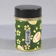 やまつ辻田名代柚七味専用缶