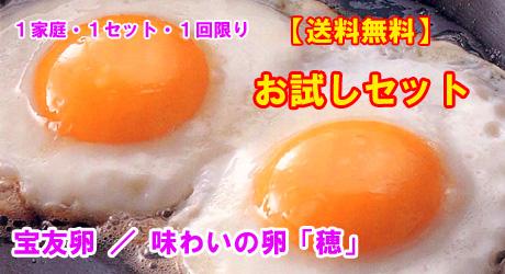 卵のお試しセット